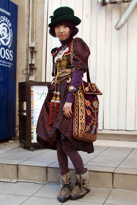 Japanese Fashion Inspiration Pt Ii Dolly Kei Thrifty Cent